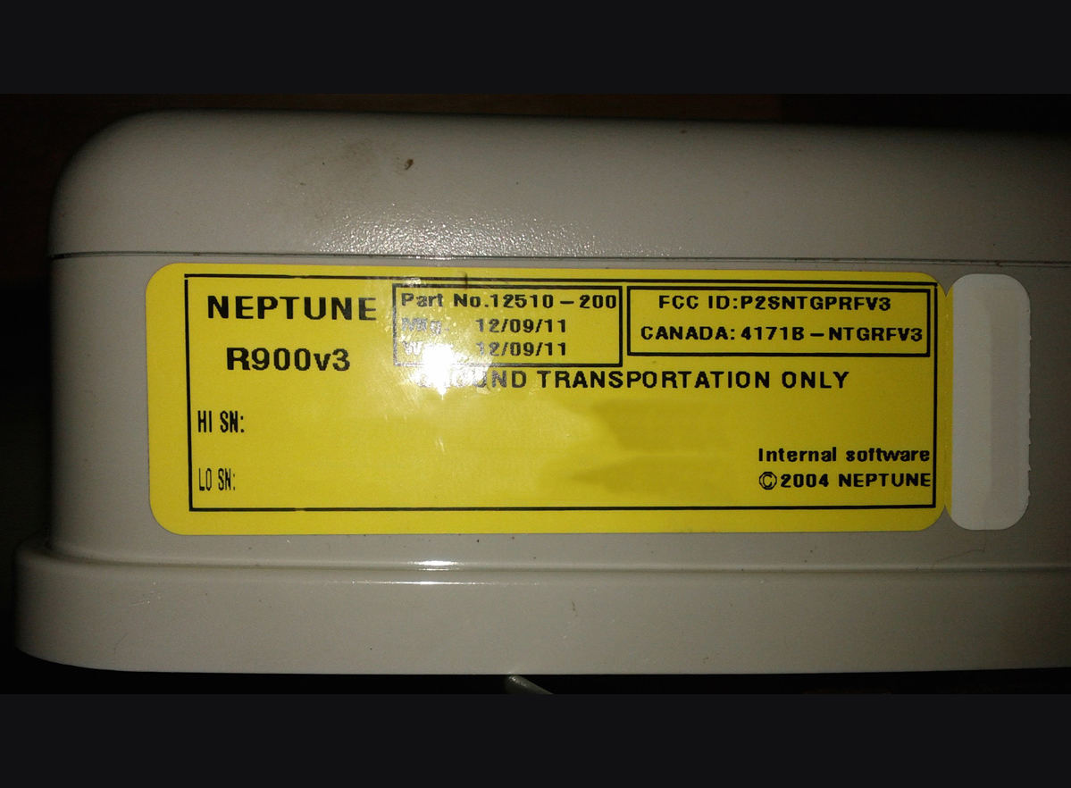 Neptune R900 Wall MIU